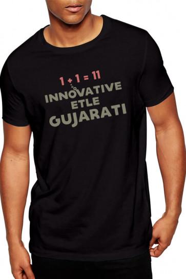 Innovative Etle Gujarati - Cotton Tshirt