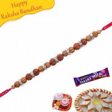 Rudraksh Thread Bracelet Rakhi