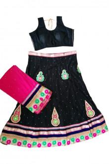 Black Navratri Chaniya Choli Buy Online For India, US, UK, Canada