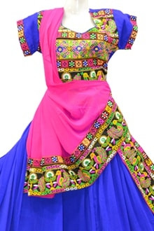 Splendidn Blue Colour Chaniya Choli for Navratri 2017 buy online