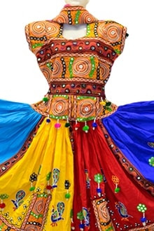 Outstanding Multi Colour Chaniya Choli for navratri 2017 buy online