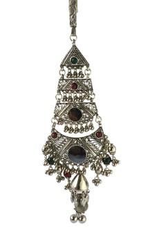 Oxidized Multicolor Juda with Ghughari & Mirror