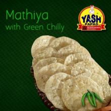 Green Chilli Mathiya  500 Grams Buy online best Gujarati Farsan