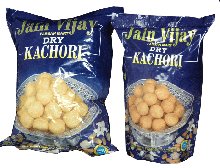 Jain vijay regular dry kachori 1 kilogms buy online from best farsan provider