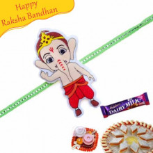 Bal Ganesha Kids Rakhi