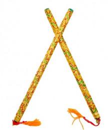 Manoranjan Wooden Dandiya Sticks for Navratri Buy Online