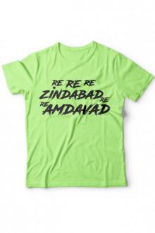 Re Re Re Amdavad Re - Cotton Tshirt