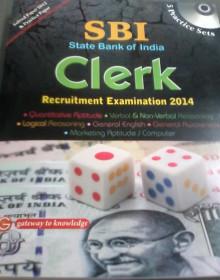 SBI Clerk Recruitment Exam 2014 English Book