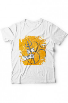 Shiv Shankar Theme Cotton Tshirt - Design No 3
