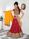 Exclusive Maroon Cotton Chaniya Choli For Navratri