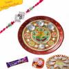 Rakhi Thali Decorated Buy Online
