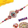 Wooden Beads Mauli Rakhi