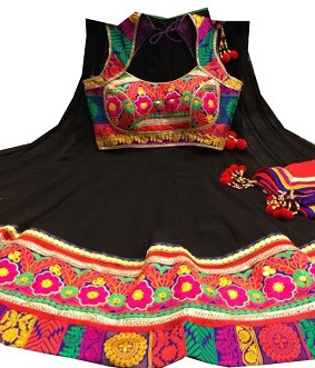 Splendid Black Navratri Chaniya Choli Buy Online India