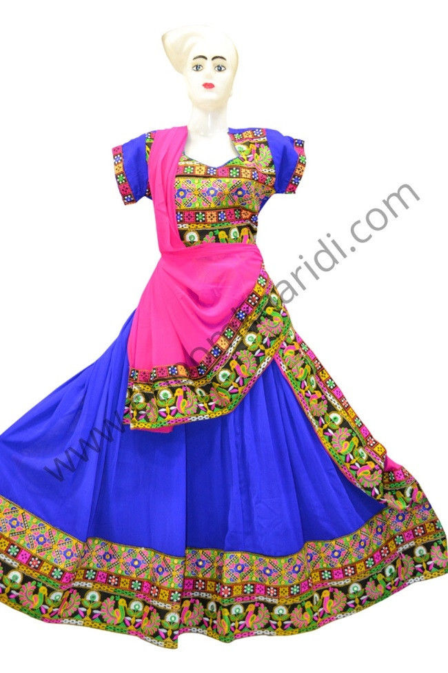 Splendidn Blue Colour Chaniya Choli Buy Online