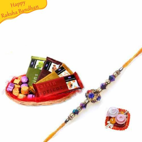 Buy Temptations Chocolates With Rakhi Online On