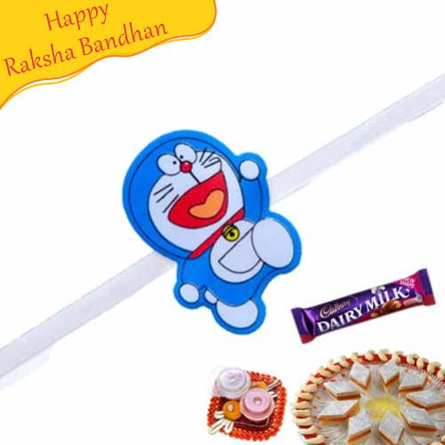 Buy Doraemon Kids Rakhi Online On Rakshabandhan With India