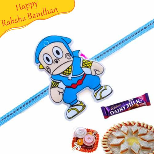 Buy Doraemon Fancy Kids Rakhi Online On Rakshabandhan With