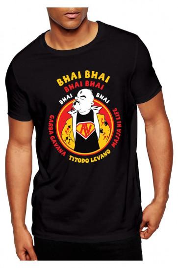 Arvind Vegda Bhai Bhai Theme - Cotton Tshirt  From Deshidukan Buy online in Gujarat, Ahmedabad, Rajkot, Surat, Vadodara