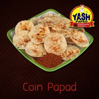 Coin Papad  500 Grams Buy online best Gujarati Farsan