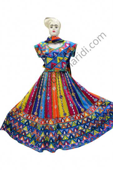 Latest All Over Multi Colour Chaniya Choli for Navratri Buy online