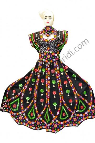 Stunning Black Colour Kutchchi Cotton Chaniya Choli for Navratri 2017 buy online