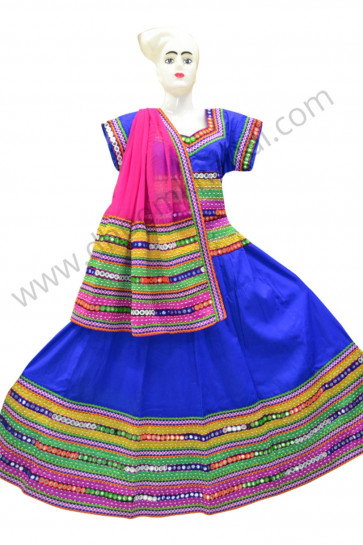 Amazing Blue Colour Chaniya Choli for navratri 2017 buy online