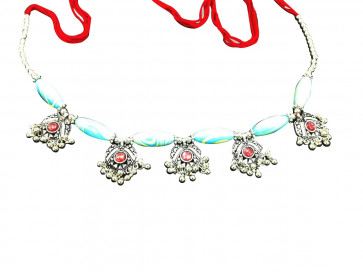 Buy Elegant Colorful Kandoro for Small Girls (Blue & Pink) Online For Navratri
