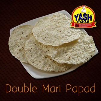 Double Mari Papad  500 Grams Buy online best Gujarati Farsan