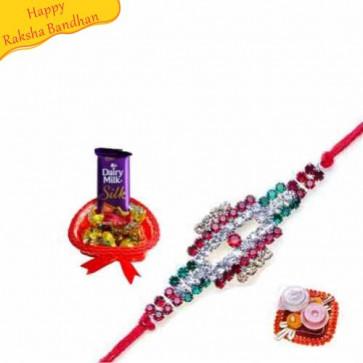 Buy Best Wishes With Rakhi Online on Rakshabandhan with India, worldwide delivery options