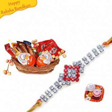Buy Fun For Little Ones With Rakhi Online on Rakshabandhan with India, worldwide delivery options
