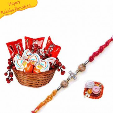 Buy Kinder Joy Treats With Rakhi Online On Rakshabandhan
