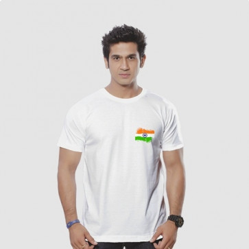 Tshirt With Indian Flag
