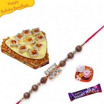 Buy Jelly Tenk with Rakhi Online on Rakshabandhan with India, worldwide delivery options