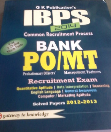 IBPS 2014 - Bank PO and MT Exams English Book