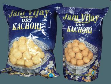 Jain vijay regular dry kachori 1 kilogms buy online from best farsan provider