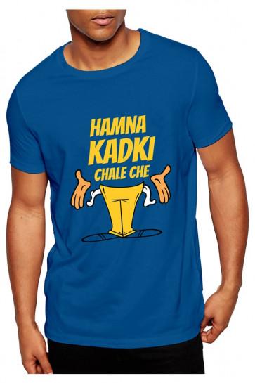 Hamna Kadki Chale Chhe - Deshidukan Cotton Tshirt Buy online in Gujarat, Ahmedabad, Rajkot, Surat, Vadodara
