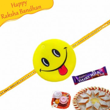 Buy Smiley Kids Rakhi Online on Rakshabandhan with India, worldwide delivery options