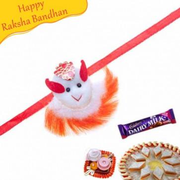 Buy Fancy Kids Rakhi Online on Rakshabandhan with India, worldwide delivery options