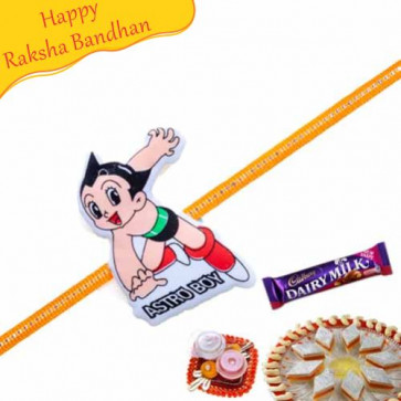 Buy Astro Boy Kids Rakhi Online on Rakshabandhan with India, worldwide delivery options