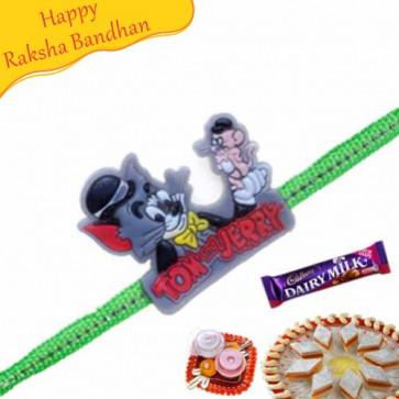 Buy Tom & Jerry Kids Rakhi Online on Rakshabandhan with India, worldwide delivery options