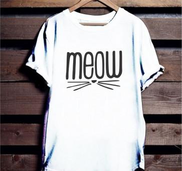 MEOW Gujarati - Cotton Tshirt  From Deshidukan Buy online in Gujarat, Ahmedabad, Rajkot, Surat, Vadodara