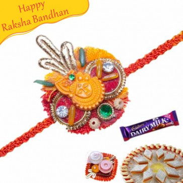 Buy Krishna Mauli Rakhi Online on Rakshabandhan with India, worldwide delivery options