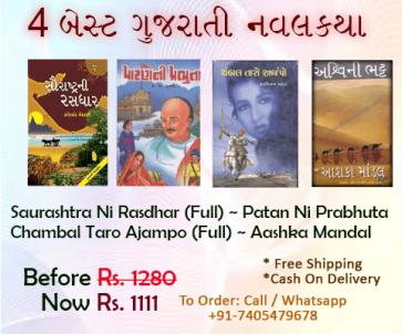 Best Gujarati Novels combo