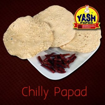 Red chilli Papad  5 Kg Buy online best Gujarati Farsan