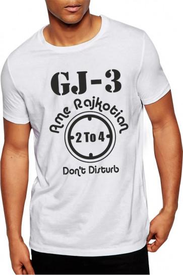 GJ 3 - Ame Rajkotian - Cotton Tshirt Buy Online
