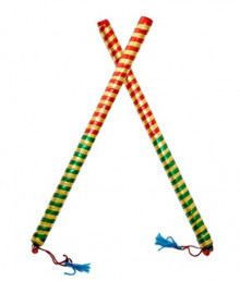 Buy Ajmeri Garba Dandiya Sticks (Wooden) For This Navratri