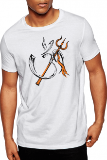 Aum Design1 - Lord Shivji Theme Cotton TShirt