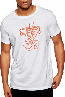Aum Design2 - Lord Shiva Theme Cotton TShirt