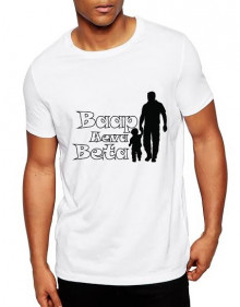 Baap Eva Beta Cotton Tshirt  From Deshidukan For Father's Day Buy online in Gujarat, Ahmedabad, Rajkot, Surat, Vadodara