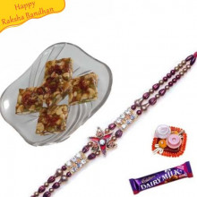 DRYFRYIT CHIKKI with Rakhi